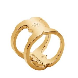TORY BURCH • Gemini Link Wrap Ring